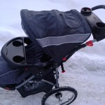 Baby Trend  three wheel single pushchair