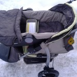 3 wheel push chair with baby attachment suitable from new born plus